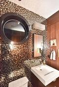 Half bathroom on main