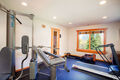 Fourth bedroom/exercise room