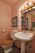 Dining room/kitchen/bathroom